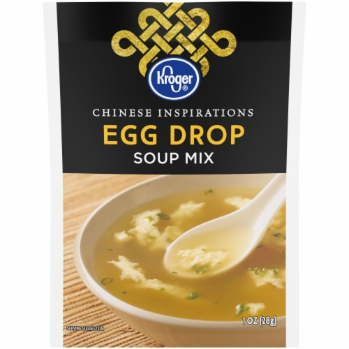 Kroger® Chinese Inspirations Egg Drop Soup Mix Packet Perspective: front