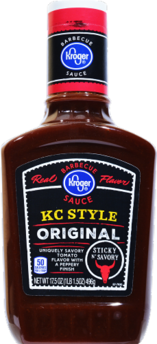Kroger® KC Style Original Barbecue Sauce Perspective: front