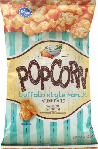 Kroger® Buffalo Style Ranch Popcorn Perspective: front