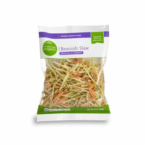 Simple Truth Organic™ Broccoli Slaw Perspective: front