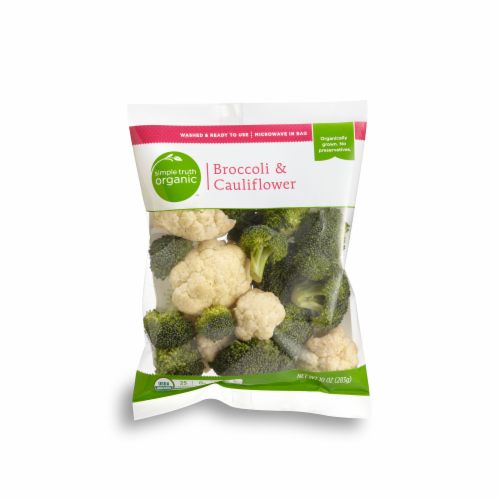 Simple Truth Organic™ Broccoli & Cauliflower Perspective: front