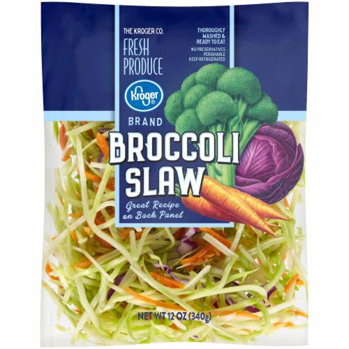 Kroger® Broccoli Slaw Perspective: front