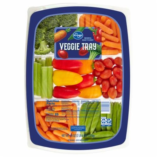 Kroger® Veggie Tray Perspective: front