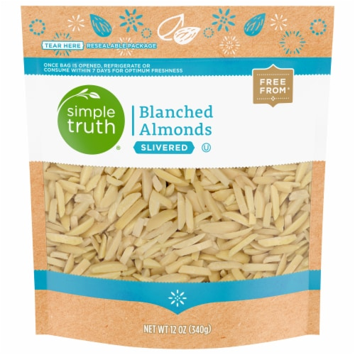 Simple Truth® Slivered Blanched Almonds Perspective: front