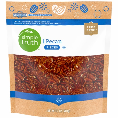 Simple Truth® Pecan Pieces Perspective: front