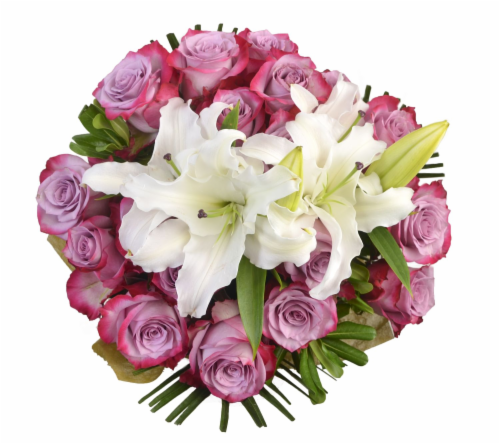 Bloom Haus™ Noble Rose Bouquet Perspective: front