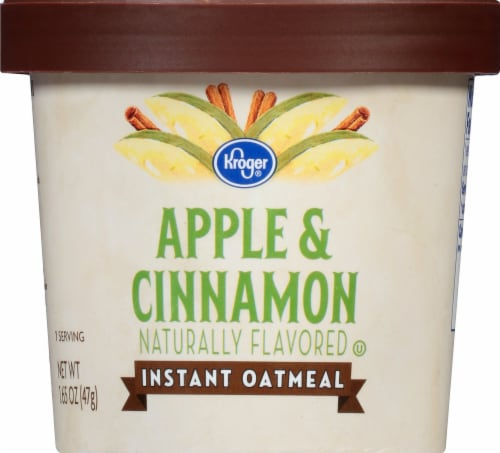 Kroger® Apple & Cinnamon Instant Oatmeal Perspective: front