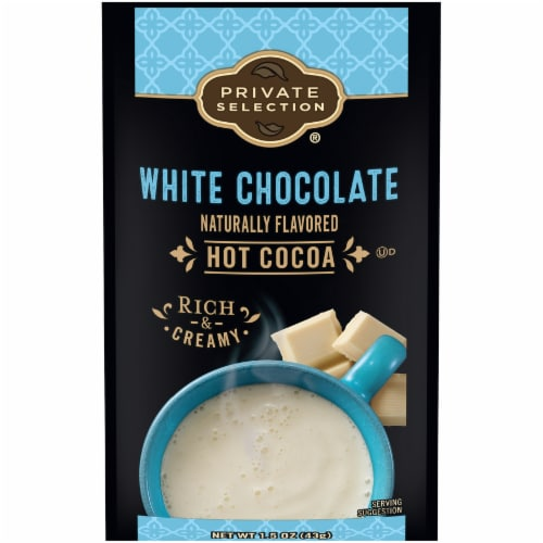 Private Selection® White Chocolate Hot Cocoa Mix Perspective: front