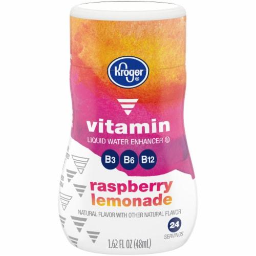 Kroger® Raspberry Lemonade Liquid Water Enhancer Perspective: front