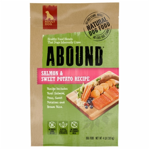 Abound™ Salmon & Sweet Potato Recipe Dog Food Perspective: front