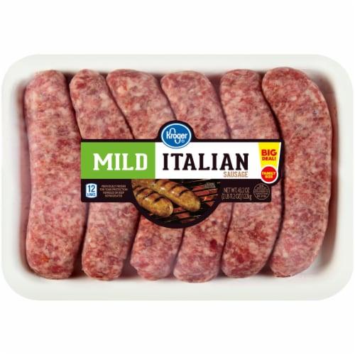 Kroger® Mild Italian Sausage Links Perspective: front