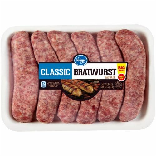 Kroger® Classic Bratwurst Perspective: front