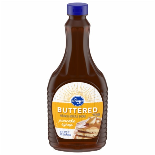 Kroger® Buttered Pancake Syrup Perspective: front