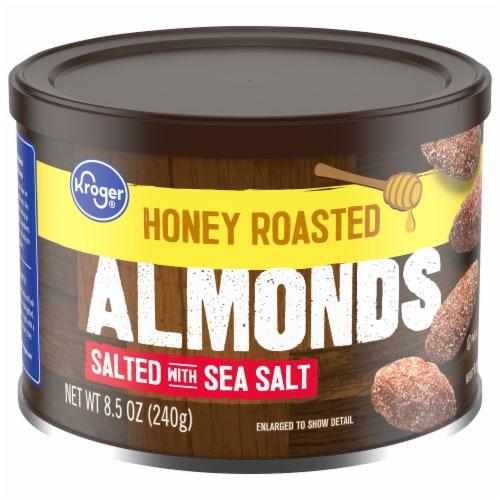 Kroger® Honey Roasted Almonds Perspective: front