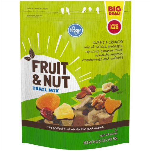 Kroger® Fruit & Nut Trail Mix Perspective: front