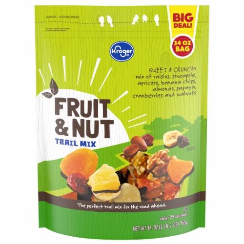 Kroger® Fruit & Nut Trail Mix Perspective: front