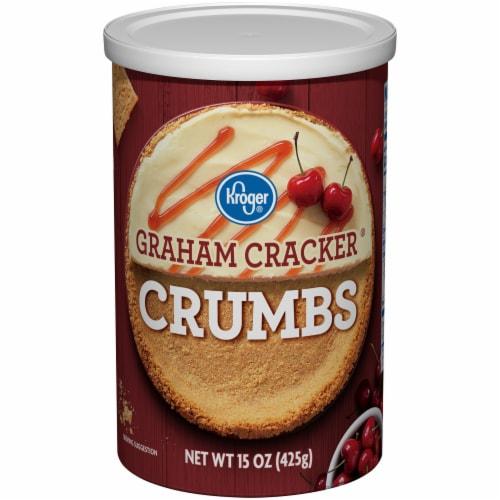 Kroger® Graham Cracker Crumbs Perspective: front