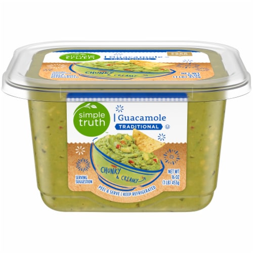Simple Truth™ Traditional Guacamole Perspective: front