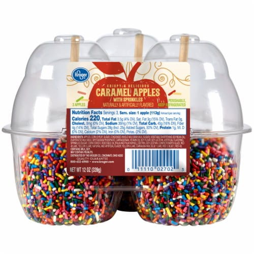 Fry S Food Stores Kroger Caramel Apples With Sprinkles 12 Oz