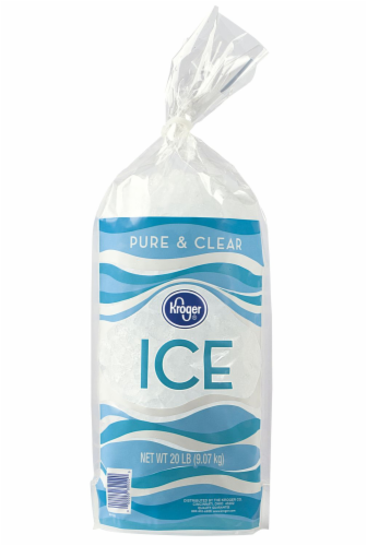 Kroger® Pure & Clear Ice Perspective: front