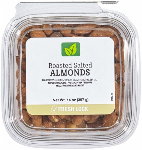 Roasted & Salted Almonds Perspective: front