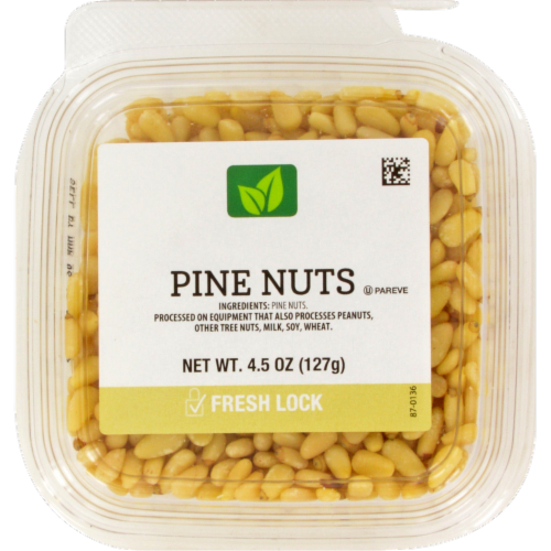 Pine Nuts Perspective: front