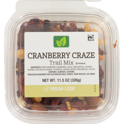 Cranberry Craze Trail Mix Perspective: front