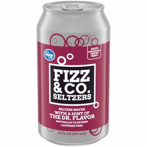 Kroger® Fizz & Co. Seltzers The Dr. Flavor Seltzer Water Perspective: front