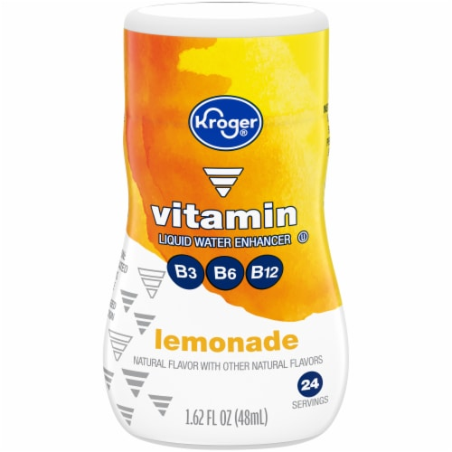 Kroger® Vitamin Lemonade Liquid Water Enhancer Perspective: front