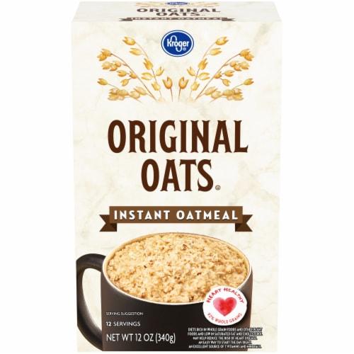 Kroger® Original Oats Instant Oatmeal Perspective: front