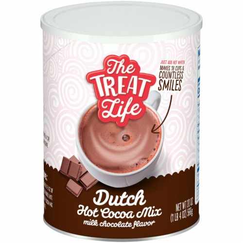 The Treat Life Dutch Hot Cocoa Mix Perspective: front