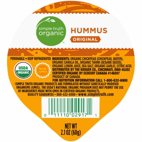 Simple Truth Organic™ Original Hummus Perspective: front