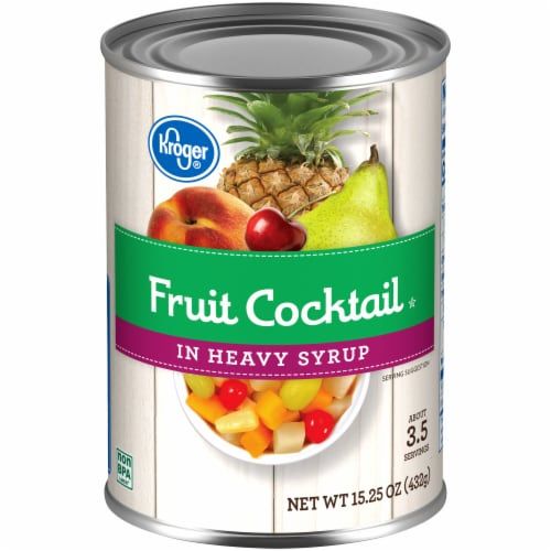 Kroger® Fruit Cocktail in Heavy Syrup Perspective: front