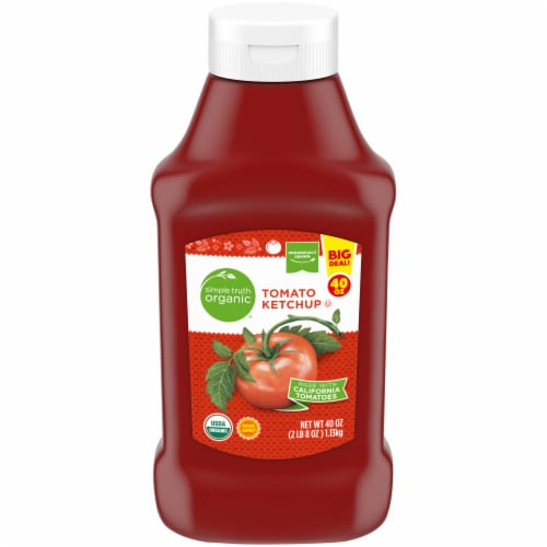 Simple Truth Organic™ Tomato Ketchup Bottle Perspective: front