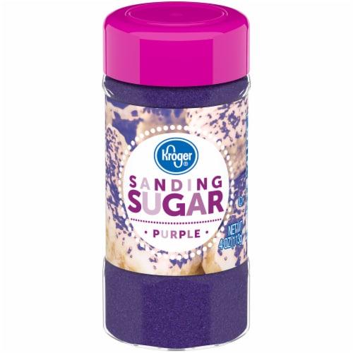 Kroger® Purple Sanding Sugar Perspective: front