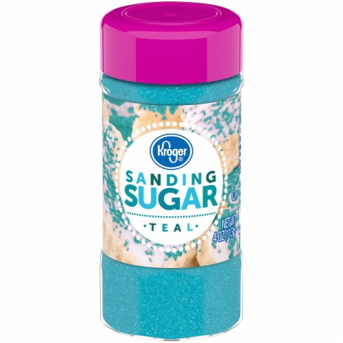 Kroger® Teal Sanding Sugar Perspective: front