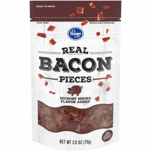 Kroger® Hickory Smoke Flavored Real Bacon Pieces Perspective: front
