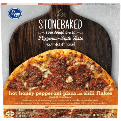 Kroger® Hot Honey Pepperoni Pizza Perspective: front