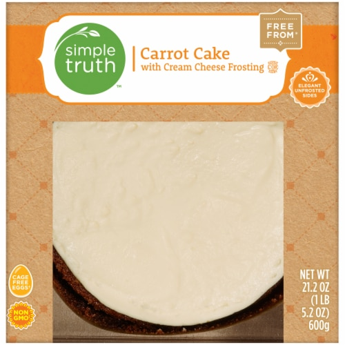Simple Truth™ Carrot Cake with Cream Cheese Frosting Perspective: front