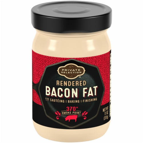 Private Selection™ Rendered Bacon Fat Perspective: front