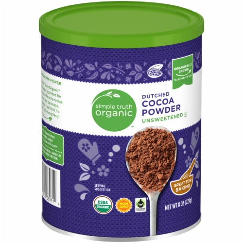 Simple Truth Organic™ Unsweetened Dutched Cocoa Powder Perspective: front