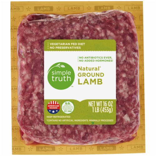Simple Truth™ Natural Ground Lamb Perspective: front