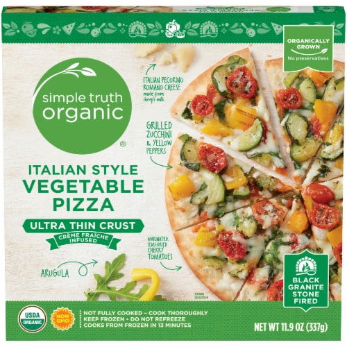 Simple Truth Organic™ Italian Style Vegetable Pizza Perspective: front