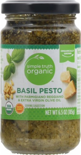 Simple Truth Organic™ Basil Pesto Perspective: front