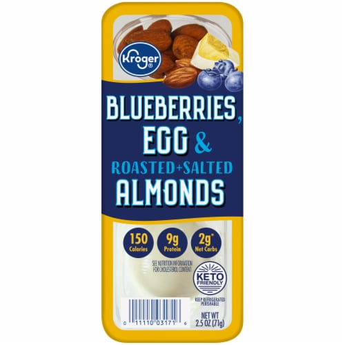 Kroger® Blueberries Egg & Roasted Salted Almonds Perspective: front