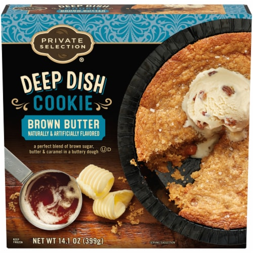Private Selection® Brown Butter Deep Dish Cookie Perspective: front