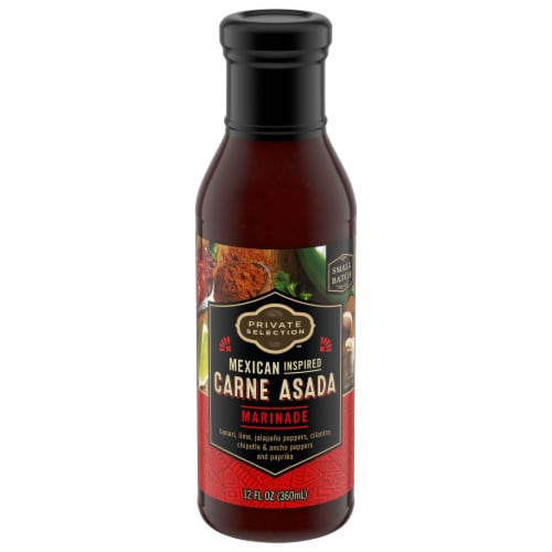Private Selection™ Mexican Inspired Carne Asada Marinade Perspective: front
