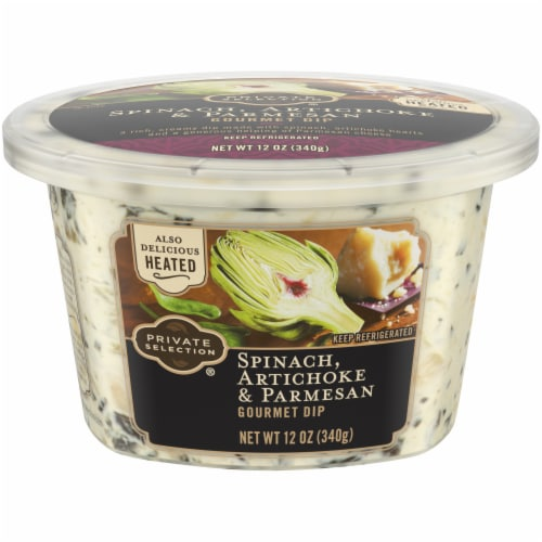 Kroger Private Selection Spinach Artichoke Parmesan Gourmet Dip 12 Oz