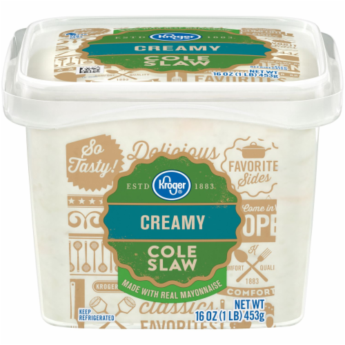 Kroger® Creamy Cole Slaw Perspective: front