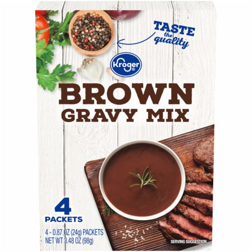 Kroger® Brown Gravy Mix Perspective: front